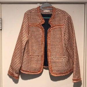 Jackets & Blazers - Beautiful woven blazer jacket NWOT